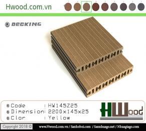 sàn gỗ ngoài trời Hwood HW145Z25 (NEW)
