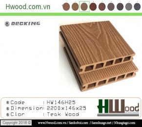 sàn gỗ ngoài trời Hwood HW146H25