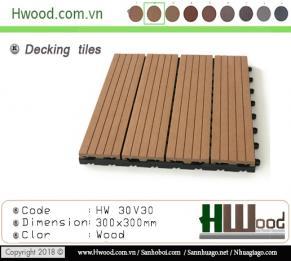 Vĩ gỗ nhựa HW30V30