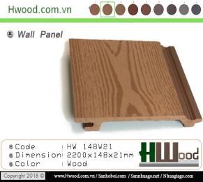 Tâm ốp gỗ nhựa HW148W21 (NEW)