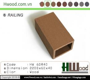 Thanh lam gỗ nhựa HW60R40