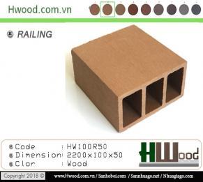Thanh lam gỗ nhựa HW100R50