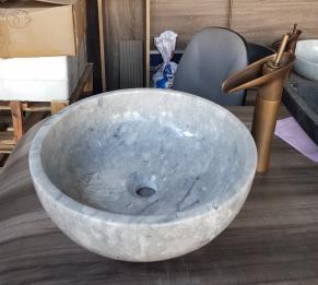 Lavabo đá cẩm thạch HCD - 011