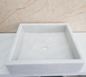 Lavabo đá cẩm thạch HCD - 012