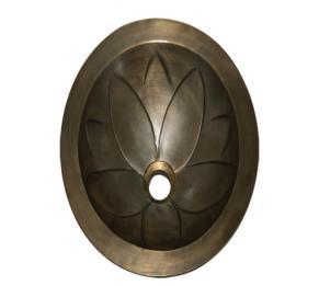 Lavabo bằng đồng đúc HCD - D02