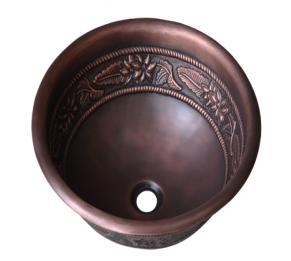 Lavabo bằng đồng đúc HCD - D05