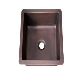 Lavabo, bồn rửa chén bằng đồng đúc HCD - D09