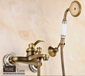 Sen tắm bằng đồng thau cổ điển HCS - S014