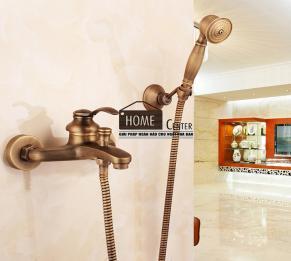 Sen tắm bằng đồng thau cổ điển HCS - S019
