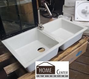Chậu rửa chén bằng đá nhân tạo HC - CR05