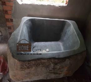 Bồn tắm đá bazan tự nhiên HBT - D04