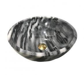 Lavabo đá tự nhiên màu da báo HCD - BST11
