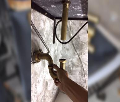 Chiều dài ống xả lavabo